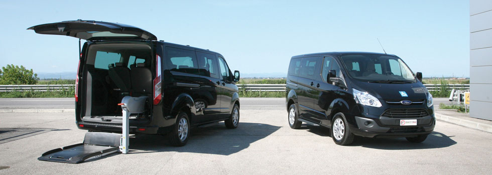 Ford Tourneo Custom - Gamma Focaccia Group per Trasporto Disabili