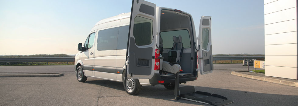 Mercedes Sprinter per trasporto disabili