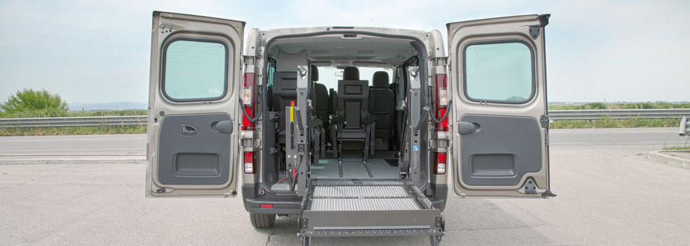 Renault Trafic Accessibile persone con disabilità