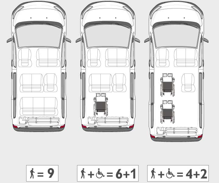 Toyota-Proace-Combi-Fiorella-Wheelchair-Lift-configurations